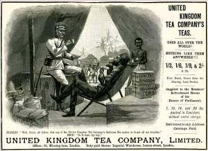 Advertisement for the United Kingdom Tea Company (1890)